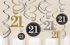 doré Célébration 21st anniversaire Tourbillon décoration valeur Pack