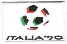 1990 14th FIFA World Cup Italy Football Soccer Patch