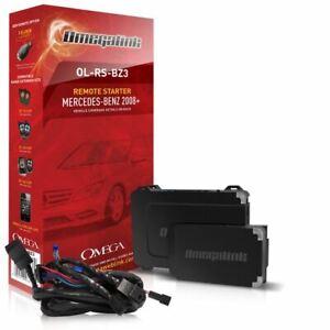 Omega OL-RS-BZ3 Plug & Play Remote Start Kit For Select 2008-2014 Mercedes Benz