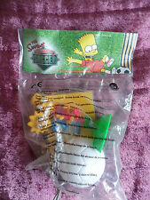 bnib simpsons/burger king collectable toy