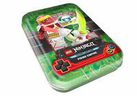 Lego® Ninjago™ Serie 5 Trading Card Game leere Mini Tin grün ohne Inhalt