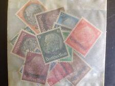 15 Different German Lorraine Stamp Collection