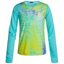 Spyder Lively Tech TEE Shirt Youth Girl's Long Sleeve Base Layer Shirt, size L