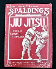 1919 Spalding's Athletic Library - JUI JITSU Training Manual - Minami - Koyama