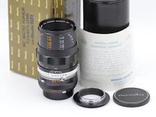 Minolta MC Macro Rokkor 50mm f/3.5 SR Mount Lens MINTY