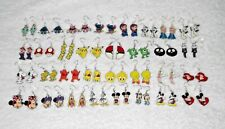 Cute Character EARRINGS Great Birthday Party Bag Gift Disney Kids etc