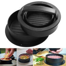 Non Stick 3-In-1 Stuffed Burger Press Hamburger Patty Molds Maker Sliders BBQ