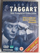 Taggart Two Episodes Death Call & The Killing Philosophy DVD 2 discs NEW SEALED