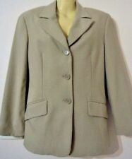 Jacket LADIES Beige UNITED COLORS OF BENETTON Size 10