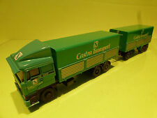 LION CAR 65 DAF 3300 TURBO TRUCK + TRAILER- CASTRA TRANSPORT WAREGEM - 1:50 - NM