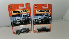 2020 Matchbox ~ 1962 Plymouth Savoy ~ Lot of 2 ~ Free Shipping