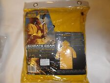 Climate Gear~PVC Garment Material Trench Coat~2 piece Weather Resistant M  NIB