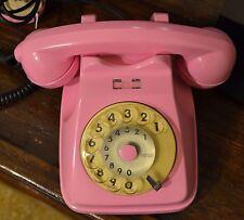 Telefono anni 70 80 SIP Rosa Shocking Vintage Funzionante
