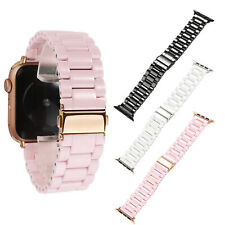 40 44 42 38mm Ceramic Strap for Apple Watch Band Series 6 5 4 3 2 Wristband Belt