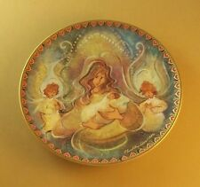 P. Buckley Moss MOTHERS ANGELS Anna Perenna Art Plate Annual Mothers Day Series