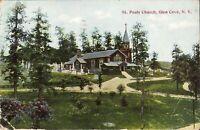 Glen Cove, NEW YORK - St Paul's Church - 1912 - Nassau County, LI