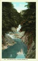 Lace Falls Waterfall Natural Bridge Virginia VA 1910's 1920's Vintage Postcard
