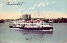 "1914 STR. ""KINGSTON"", ST. LAWRENCE RIVER, THOUSAND ISLANDS, N. Y."