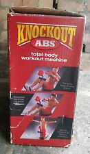 Knockout ABS Total Body Work Machine