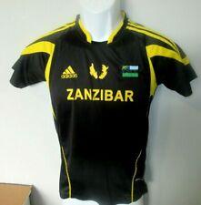 Youth Boys Adidas Zanzibar National Team Football Soccer Jersey sz. M  EUC