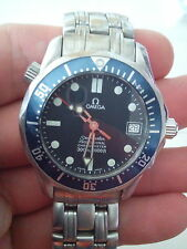 Omega Seamaster (Mid-Size) Automatic Watch - Blue Dial