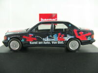 "Herpa 180856 Mercedes-Benz 190 E (1988) ""Sixt Art Car"" 1:87/H0 NEU/OVP/PC"