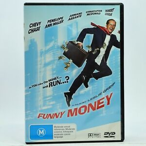 Funny Money 2006 Chevy Chase Comedy Movie DVD Good Condition Free Tracked Post