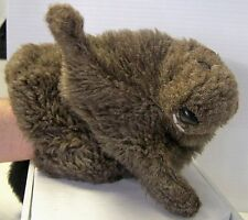 Vintage BEAVER Hand Puppet Plush 16 Inches Long