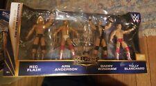 WWE Hall of Fame Set (The Four Horsemen) Class of 2012 From Mattel 2015 NEW