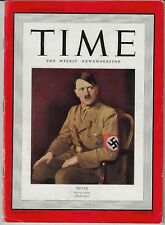 TIME MAGAZINE APRIL 14, 1941 - HITLER  Cover - WWII - SPRING IS HERE