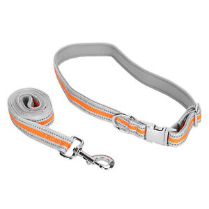 Quality Dog Pet Collars Leash Set Anti‑Lost Pet Outdoor Walking Traction Rope