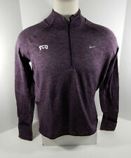 Texas Christian Univeristy TCU Women's Purple Zip Up Pullover Jacket Nike New XL