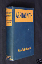 Arrowsmith by Sinclair Lewis, 1925 HC, 7th print, August, 1925