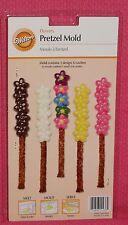 Flower,Daisy,Chocolate Candy Pretzel Mold, Wilton,Clear Plastic,2115-4436