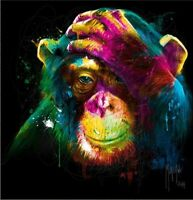 5D Diamond Painting Full Drill DIY Monkey Embroidery Cross Stitch Kit Wall Decor