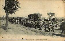 050817 -carte postaleASIE CHINE - cortège de mariage - noces procession