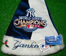 NY Yankees 2009 World Series Champions Baseball Christmas Santa Hat Party