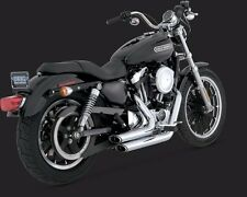 VANCE AND HINES STAGGERED SHORTSHOTS FOR HARLEY DAVIDSON 2004-2013 XL MODELS