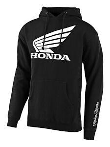Troy Lee Designs Honda Wing Pullover Hoody - Black