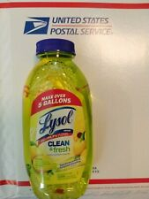 Lysol Concentrate Lemon Clean and Fresh Multi Surface Cleaner 10.75 Kills 99.9%