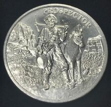 New listing 1 oz Prospector Silver Round .999 Silver