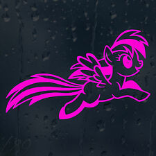 My Pink Jumping Little Pony Car Decal Vinyl Sticker For Outside Use
