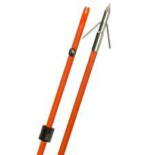 Fin-Finder: Raider Pro Bowfishing Arrow - Orange W/ Rip Tide Point - Nib