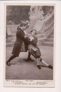 Carte Postale Vintage Acteurs Hayden Coffin & Dan Rolyat En Tom Jones