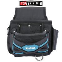 Makita E-05131 New Blue Range 2 Pocket Screw Nail Fixing Tool Belt Holder Pouch