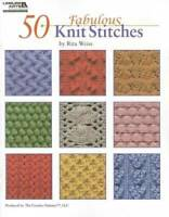 50 Fabulous Knit Stitches  (Leisure Arts #4280) - Paperback - GOOD
