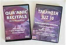 Quranic Recitals /Taraweh Juz 30 (2  Dvds) Qari Basit & Shaykh Sudais & Shuraim