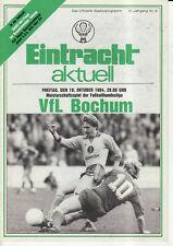 BL 84/85  Eintracht Braunschweig - VfL Bochum