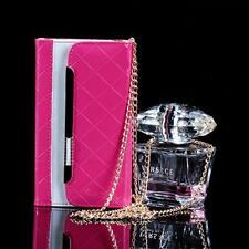 Luxus Hand Tasche Handy Etui Samsung i9100 i9100 G Galaxy S2 SII Pink Cover Case