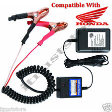 New Honda Motorcycles 12 Volt Battery Maintainer Tender Float Smart Charger 12v